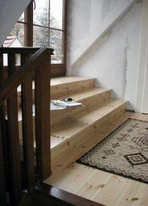 Treppe im Wohnbereich, Holzbau-Steinbach GmbH