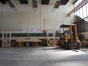 Werkhalle am Standort Riesa, Lommatzscher Str.6