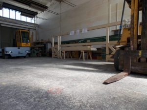 Werkhalle,Holzbau Steinbach GmbH, Riesa