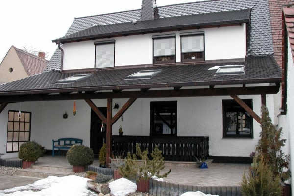 Dach EFH mit Schleppe, Holzbau-Steinbach GmbH