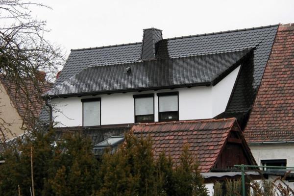Dachsanierung mit Schleppdach-Anbau, Holzbau-Steinbach GmbH