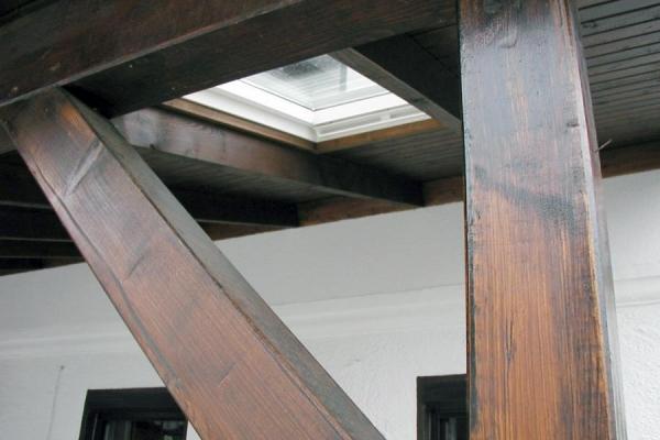 Detail Schleppdach EFH, Holzbau-Steinbach GmbH