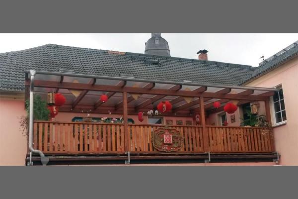 Balkon, Geländer, Überdachung_Holzbau-Steinbach GmbH